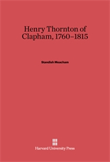 Cover: Henry Thornton of Clapham, 1760-1815