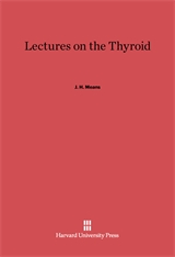 Cover: Lectures on the Thyroid in E-DITION