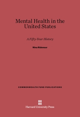 Cover: Mental Health in the United States: A Fifty-Year History