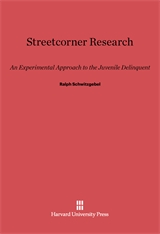 Cover: Streetcorner Research in E-DITION