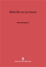 Cover: Melville as Lecturer in E-DITION