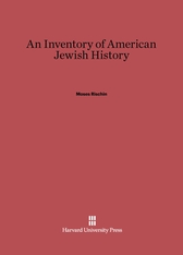 Cover: An Inventory of American Jewish History