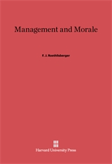 Cover: Management and Morale in E-DITION