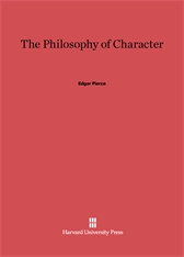 Cover: The Philosophy of Character