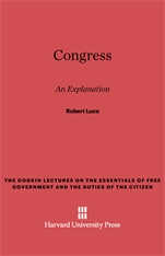 Cover: Congress, An Explanation