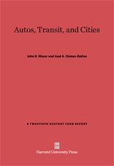 Cover: Autos, Transit, and Cities
