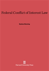 Cover: Federal Conflict of Interest Law