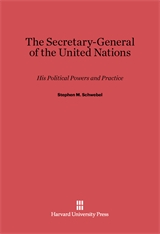 Cover: The Secretary-General of the United Nations: His Political Powers and Practice