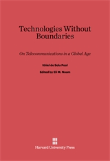 Cover: Technologies without Boundaries in E-DITION