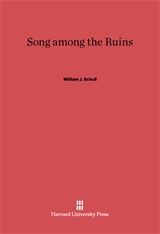 Cover: Song among the Ruins