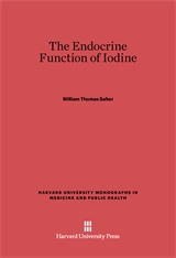 Cover: The Endocrine Function of Iodine