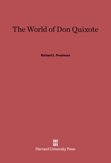 Cover: The World of Don Quixote