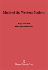Cover: Music of the Western Nations