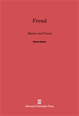 Cover: Freud: Master and Friend