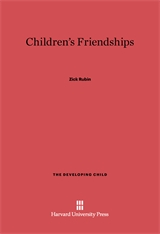 Cover: Children's Friendships in E-DITION