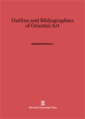 Cover: Outline and Bibliographies of Oriental Art