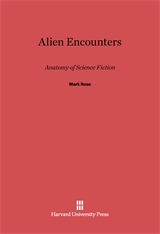 Cover: Alien Encounters: Anatomy of Science Fiction
