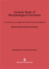 Cover: Genetic Basis of Morphological Variation: An Evaluation and Application of the Twin Study Method