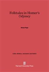 Cover: Folktales in Homer's <i>Odyssey</i>