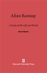 Cover: Allan Ramsay: A Study of His Life and Works