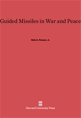 Cover: Guided Missiles in War and Peace in E-DITION