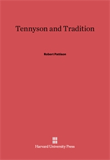 Cover: Tennyson and Tradition