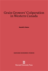 Cover: Grain Growers' Cooperation in Western Canada