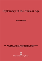 Cover: Diplomacy in the Nuclear Age in E-DITION