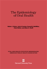 Cover: The Epidemiology of Oral Health