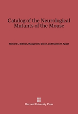 Cover: Catalog of the Neurological Mutants of the Mouse