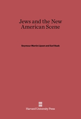 Cover: Jews and the New American Scene