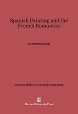 Cover: Spanish Painting and the French Romantics