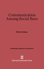 Cover: Communication Among Social Bees: Enlarged Edition
