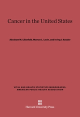 Cover: Cancer in the United States