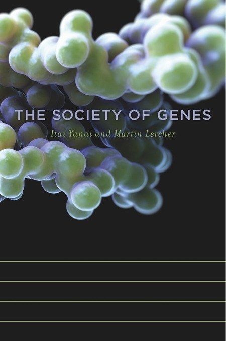 Cover: The Society of Genes, from Harvard University Press