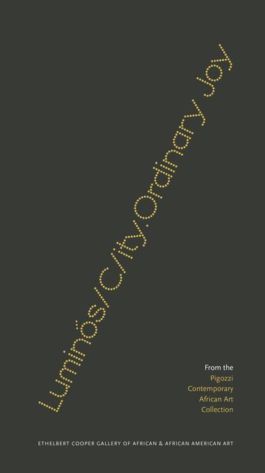Cover: Luminós/C/ity.Ordinary Joy: From the Pigozzi Contemporary African Art Collection, from Harvard University Press
