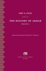 Cover: The History of Akbar, Volume 1 in HARDCOVER