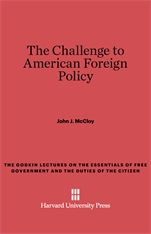 Cover: The Challenge to American Foreign Policy