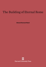 Cover: The Building of Eternal Rome in E-DITION