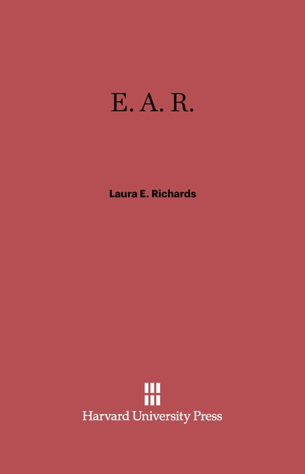 Cover: E.A.R., from Harvard University Press