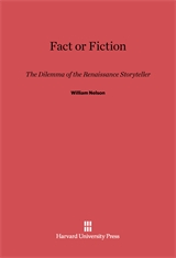 Cover: Fact or Fiction: The Dilemma of the Renaissance Storyteller