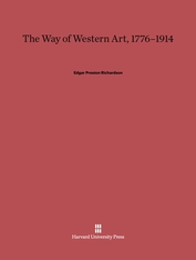 Cover: The Way of Western Art, 1776-1914