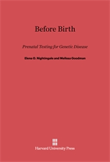 Cover: Before Birth in E-DITION