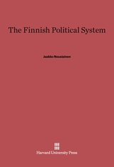 Cover: The Finnish Political System in E-DITION