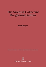 Cover: The Swedish Collective Barganing System in E-DITION