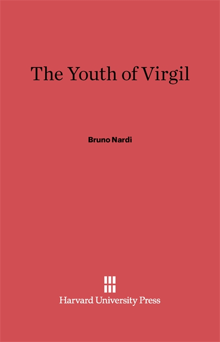Cover: The Youth of Virgil, from Harvard University Press