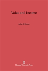 Cover: Value and Income