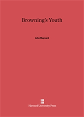 Cover: Browning's Youth