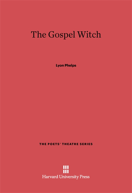Cover: The Gospel Witch, from Harvard University Press