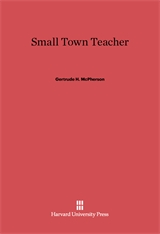 Cover: Small Town Teacher